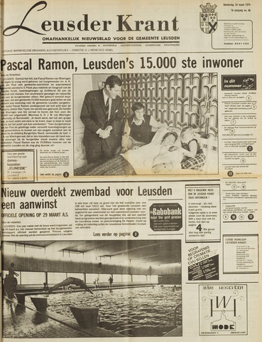 Leusder Krant 1974-03-14