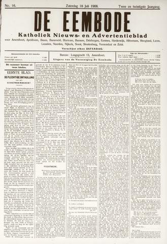 De Eembode 1908-07-18