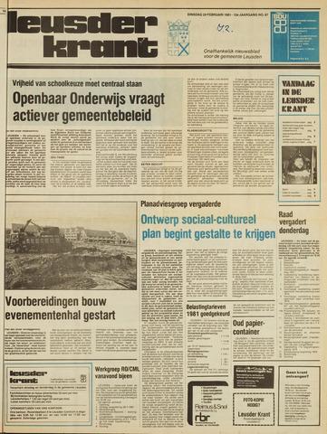 Leusder Krant 1981-02-24