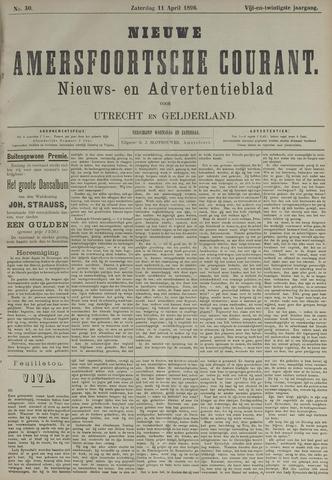 Nieuwe Amersfoortsche Courant 1896-04-11