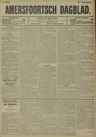 Amersfoortsch Dagblad 1904-04-29