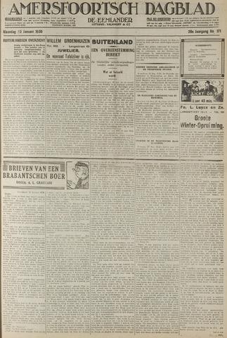 Amersfoortsch Dagblad / De Eemlander 1930-01-20