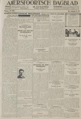 Amersfoortsch Dagblad / De Eemlander 1929-07-30