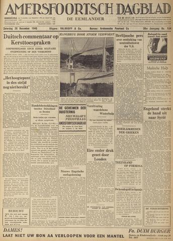Amersfoortsch Dagblad / De Eemlander 1940-12-28