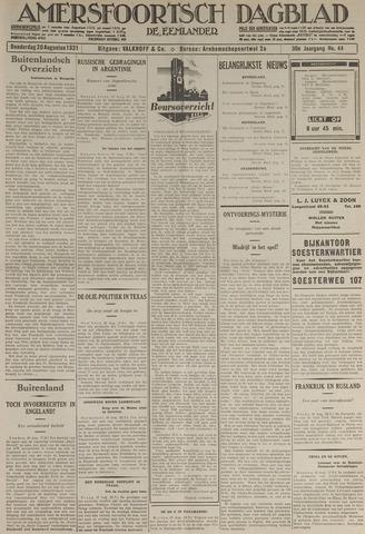 Amersfoortsch Dagblad / De Eemlander 1931-08-20