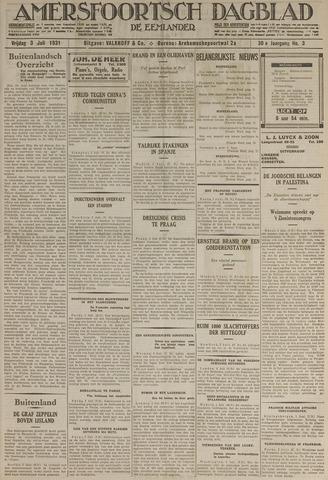 Amersfoortsch Dagblad / De Eemlander 1931-07-03