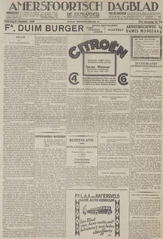 Amersfoortsch Dagblad / De Eemlander 1928-11-10