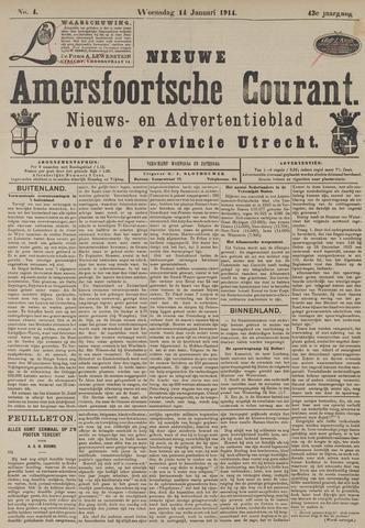 Nieuwe Amersfoortsche Courant 1914-01-14