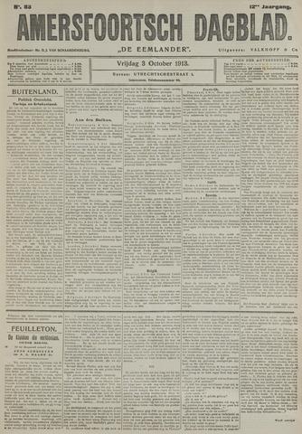 Amersfoortsch Dagblad / De Eemlander 1913-10-03