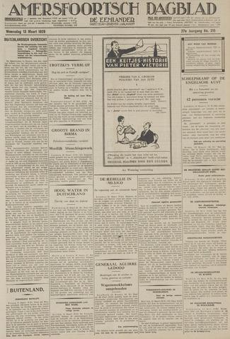 Amersfoortsch Dagblad / De Eemlander 1929-03-13