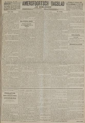 Amersfoortsch Dagblad / De Eemlander 1918-02-12
