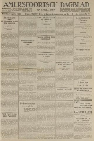 Amersfoortsch Dagblad / De Eemlander 1933-08-23