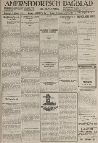 Amersfoortsch Dagblad / De Eemlander 1931-10-01