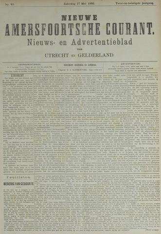 Nieuwe Amersfoortsche Courant 1893-05-27