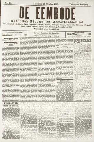 De Eembode 1906-10-20