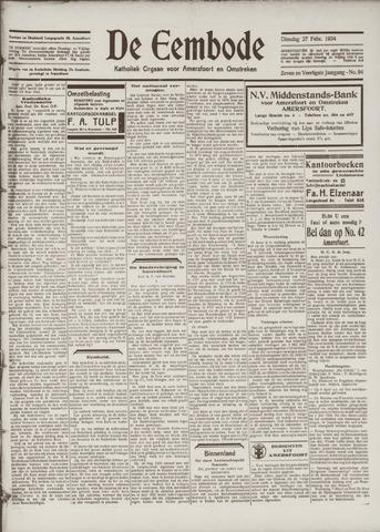 De Eembode 1934-02-27