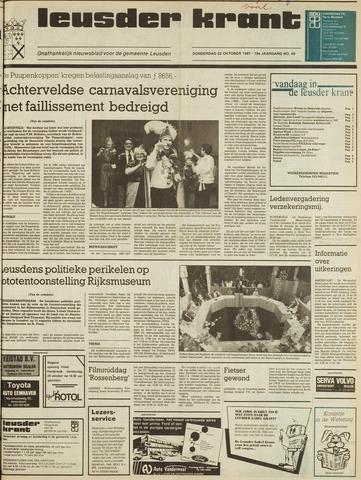 Leusder Krant 1987-10-22