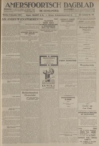 Amersfoortsch Dagblad / De Eemlander 1933-12-18