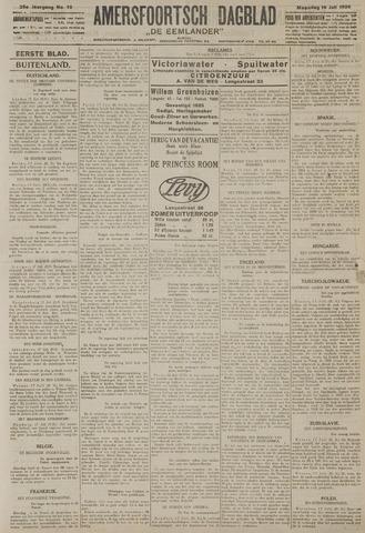 Amersfoortsch Dagblad / De Eemlander 1926-07-19