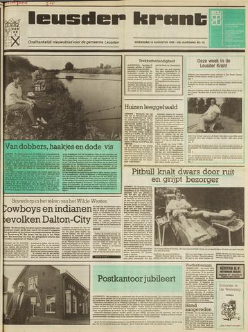 Leusder Krant 1990-08-15