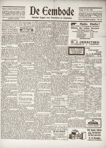 De Eembode 1932-05-20