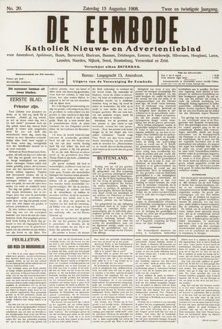De Eembode 1908-08-15