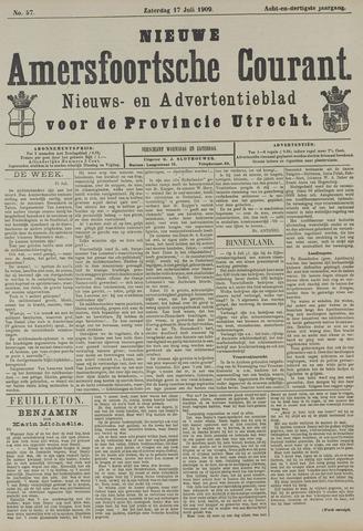 Nieuwe Amersfoortsche Courant 1909-07-17