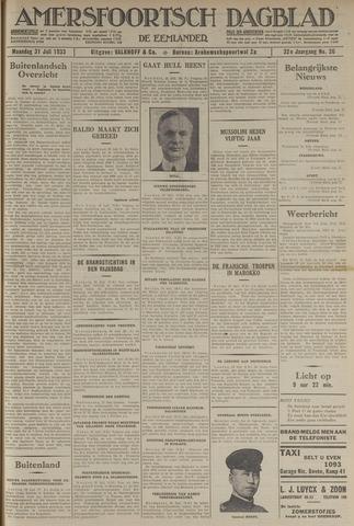 Amersfoortsch Dagblad / De Eemlander 1933-07-31