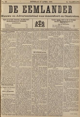 De Eemlander 1908-04-14