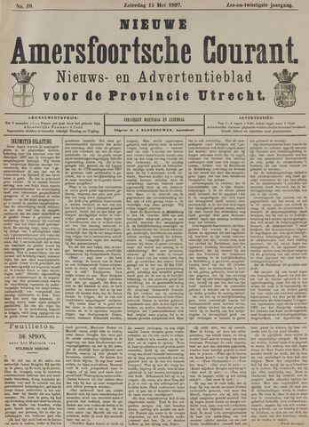 Nieuwe Amersfoortsche Courant 1897-05-15