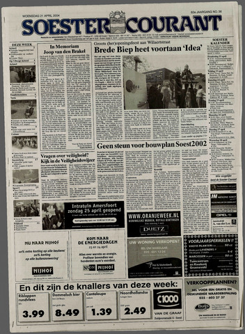 Soester Courant 2004-04-21