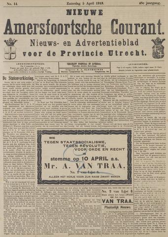 Nieuwe Amersfoortsche Courant 1919-04-05