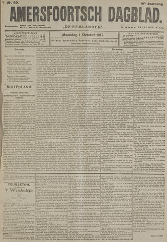 Amersfoortsch Dagblad / De Eemlander 1917-10-01