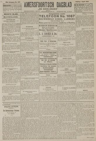 Amersfoortsch Dagblad / De Eemlander 1927-04-01