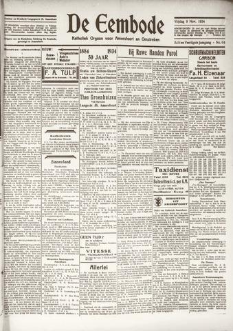 De Eembode 1934-11-09