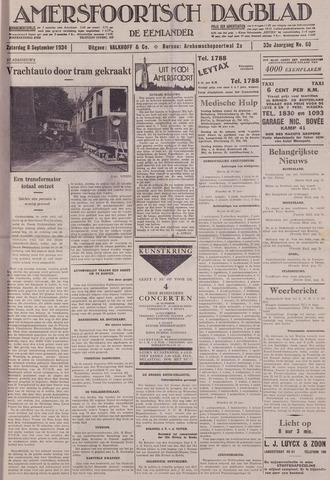 Amersfoortsch Dagblad / De Eemlander 1934-09-08