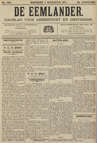 De Eemlander 1911-08-07