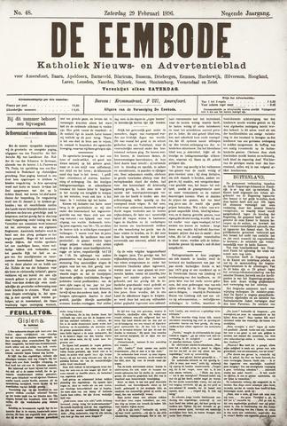 De Eembode 1896-02-29