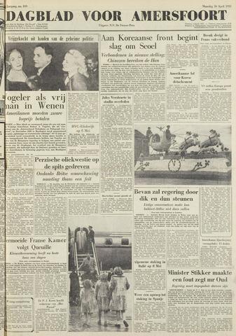 Dagblad voor Amersfoort 1951-04-30
