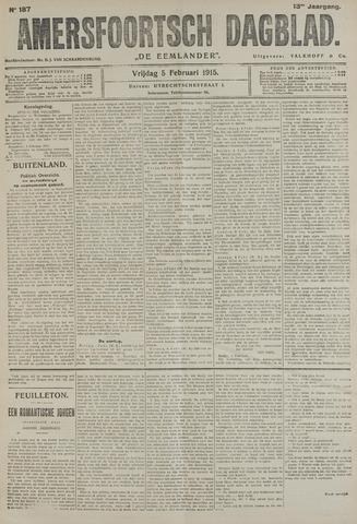 Amersfoortsch Dagblad / De Eemlander 1915-02-05