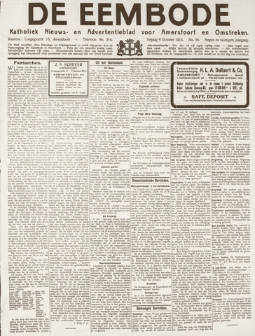 De Eembode 1915-10-08