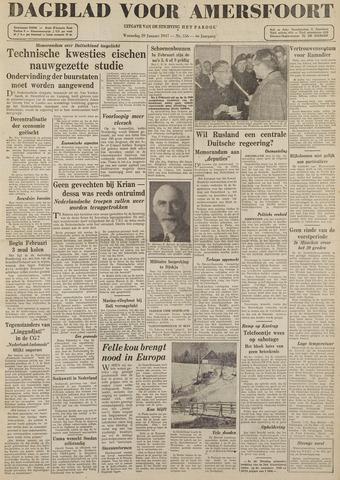Dagblad voor Amersfoort 1947-01-29