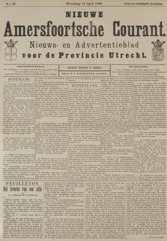 Nieuwe Amersfoortsche Courant 1899-04-12