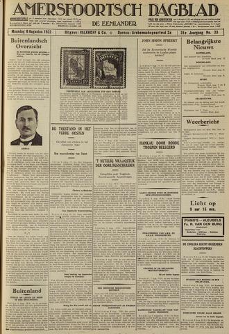 Amersfoortsch Dagblad / De Eemlander 1932-08-08