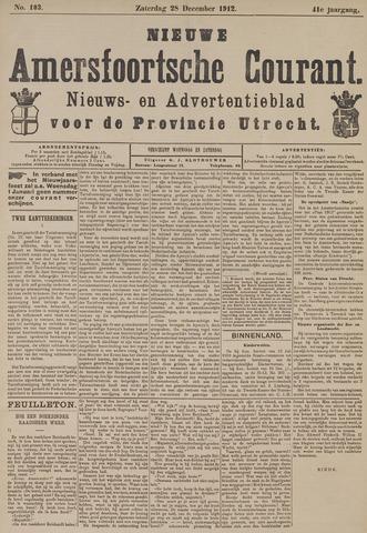 Nieuwe Amersfoortsche Courant 1912-12-28