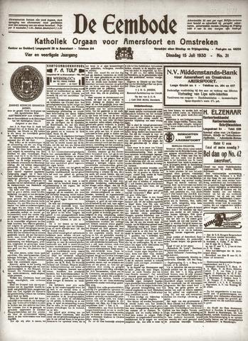 De Eembode 1930-07-15