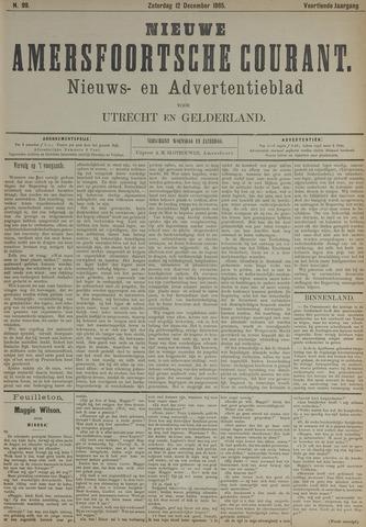 Nieuwe Amersfoortsche Courant 1885-12-12
