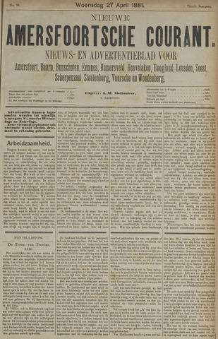 Nieuwe Amersfoortsche Courant 1881-04-27
