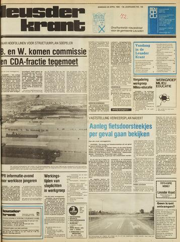 Leusder Krant 1982-04-20