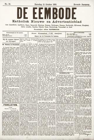 De Eembode 1893-10-21